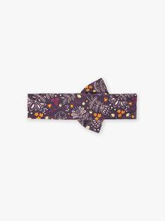 Bandeau imprimé violet  VAMANON / 20H4BFU1BAN711
