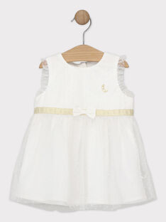 Off white Chasuble dress SAZORA / 19H1BFP1CHS001