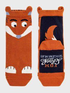 Light orange Socks SAFAGE / 19H4PG42SOQ406