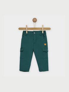 Green pants RACLYDE / 19E1BG61PANG611