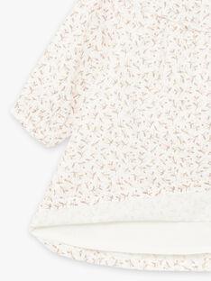 Ensemble robe imprimé fleuri et collants naissance fille BOLOLA / 21H0CFK3ENS001