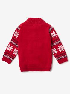 Pull de Noel rouge   VAZACK / 20H1BGK1PUL050