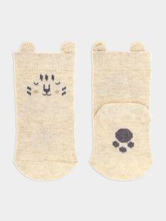 Heather Off white Socks SYALBER / 19H0AG11SOQA010
