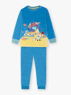Pyjama bleu petit garçon  VECOSMAGE / 20H5PG36PYJC212