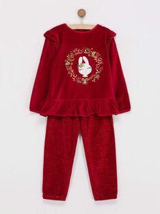 Red Pajamas PYRAMETTE / 18H5PFS2PYJF512