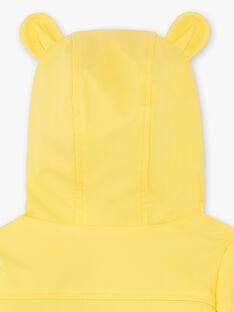 Imperméable 3-en-1 jaune ZUBADI / 21E1BGM1IMPB105