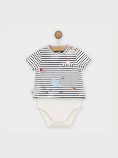Off white Body suit RANOLAN / 19E1BGE1BOD001