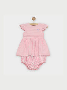 Robe rose RAKLELIA / 19E1BFF1ROB318
