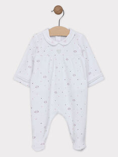 White Romper SYAMELY / 19H0NF12GRE000