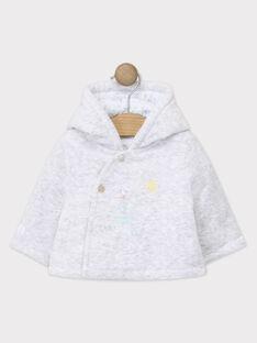 Veste à capuche en velours bébé garçon TYJOEL / 20E0CGF1VESJ920
