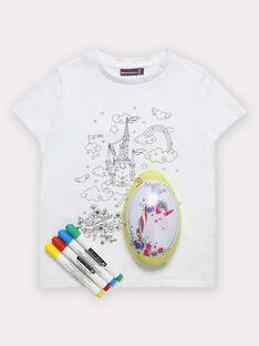 Œuf de Pâques Licorne avec T-shirt à colorier TUTUETTE 2 / 20E2PFU1TCT000