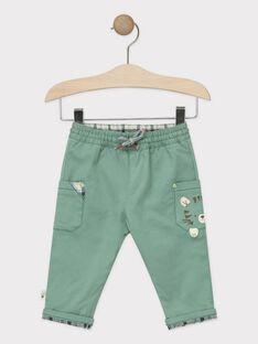 Green pants TAARY / 20E1BGB1PANG624