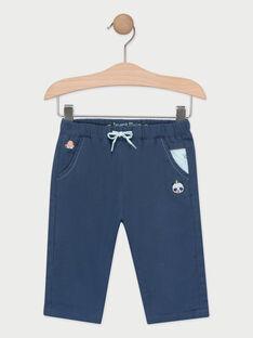 Pantalon bleu bébé garçon  TAPIETRO / 20E1BGP1PANC205