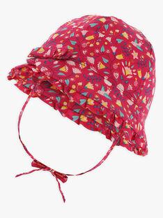 Chapeau imprimé fleuri bébé fille  TASILOA / 20E4BFQ1CHAF510