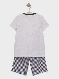Pyjama short petit garçon TEVOYAGE / 20E5PGE4PYJJ920