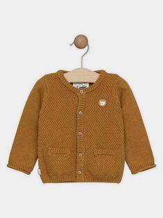 Light brown Waistcoat SAKENTIN / 19H1BG61GIL804