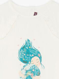 T-shirt manches longues animation du thème ZATILETTE / 21E2PF71TML009