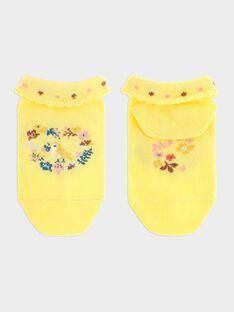 Light yellow Low socks SEROMETTE / 19H4PF21SOBB115