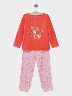 Orange Pajamas SYLOUETTE / 19H5PF55PYJ402